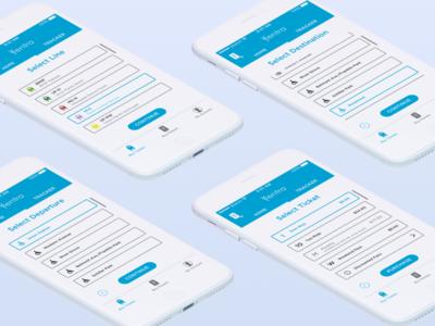 Metra Ticket Buying - Ventra App transit app travel app mobile ui iphone travel transit ux ui