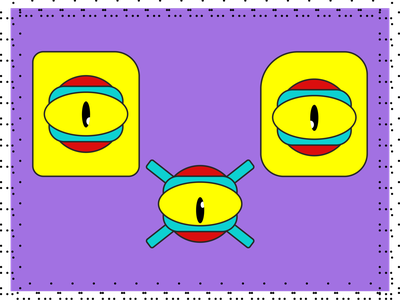 I see you art pop vector logo design branding mood graphic design flatdesign flatcharacter illustration