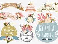 Botanical Banners