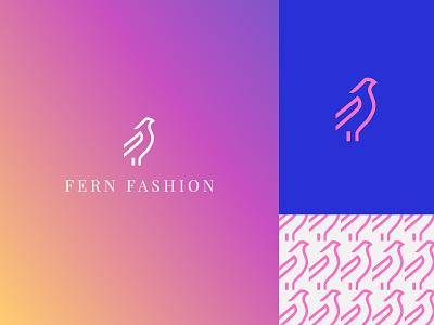 Fern Fashion - Branding clothes women fashion logo designbykarma illustration icon agency design branding logo