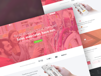 Tulip Retail Landing Page