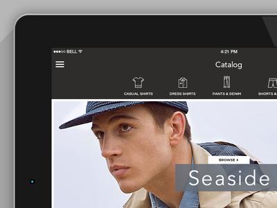 Catalog categories catalog ipad ios