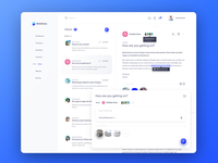 CRM Inbox - Light Theme