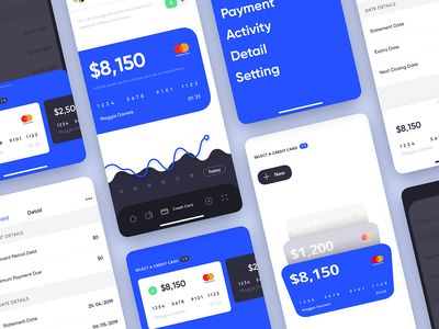 Mobile Banking - Credit Card android mobile bank finance dashboard ios design app ux ui