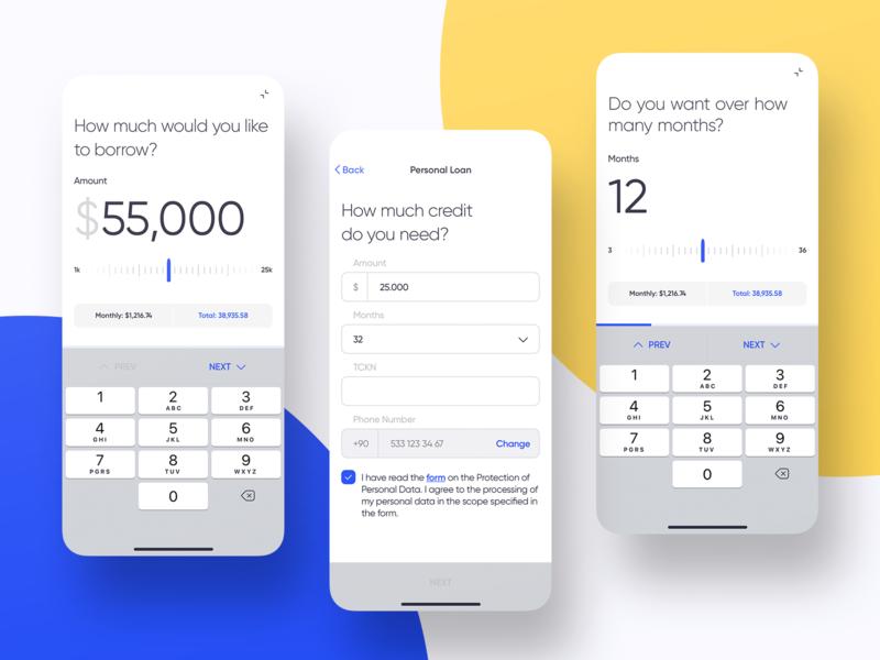 Mobile Banking - Loan
