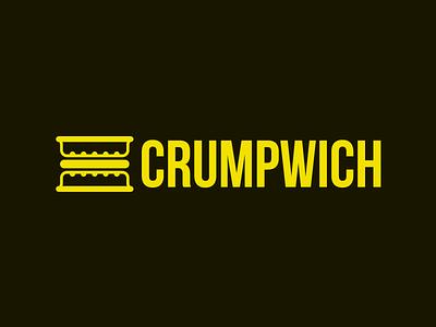 Crumpwich bebas neue food crumpwich sandwich crumpet logo