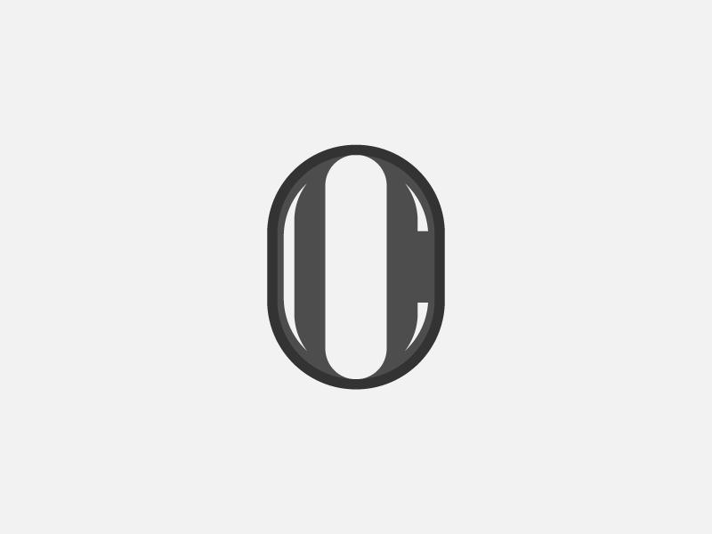 Oc Monogram Logomark By Olly Cowan Dribbble Dribbble