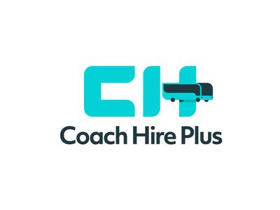 CHP logo bus logo coach logo ch logo