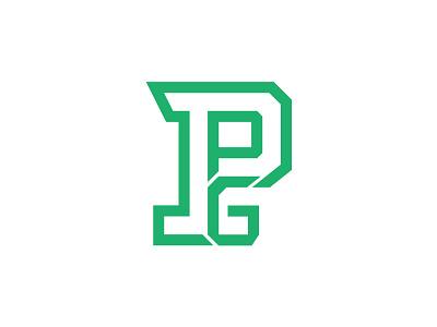 PPG logomark concept branding fitness sport gym logo ppg