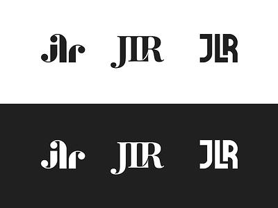 JLR logos development construction building minimal lettermark logo jlr