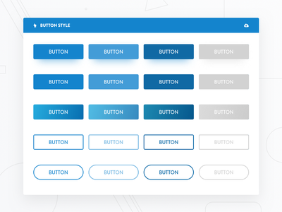 Daily UI #083 - Buttons dailyui daily ui ux ui free concept minimal gradient clean card button state button