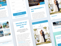 Responsive Hotel Website Redesign