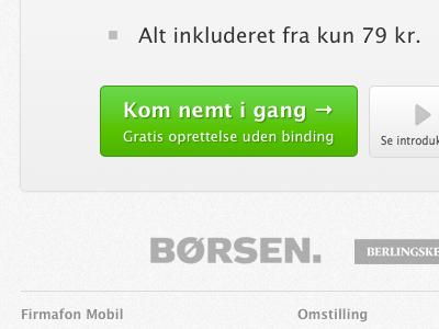 Firmafon.dk november edition website saas cta
