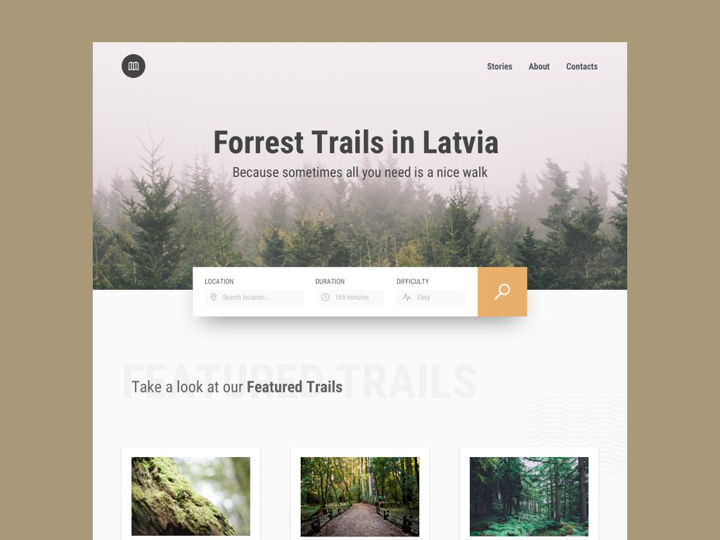 Forrest Trails forrest nature