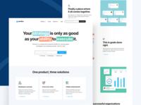 Perdoo — Site Release masthead colours landing page branding perdoo ui ux tech saas web design web together ux ui homepage clean
