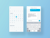 Messaging and Booking