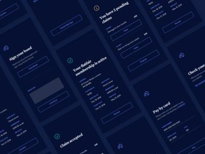 Tenancy App Screens