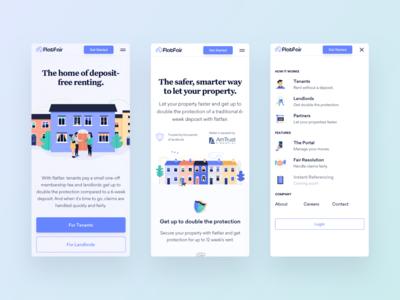 flatfair — Mobile Web Design