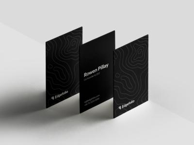 Edgefolio — Business Cards