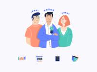Flatfair — Illustrations