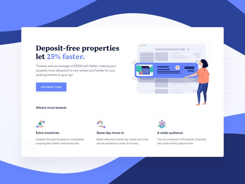 flatfair — Partners fintech proptech interface flatfair designer user experience marketing site tech saas together ui ux website