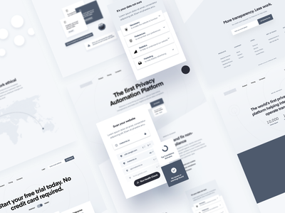 Metomic — Wireframes wireframes website ui ux together saas tech marketing site designer user experience homepage privacy gdpr privacy automation security