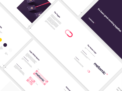 Metomic — Branding Guidelines security privacy automation gdpr privacy homepage designer user experience marketing site tech saas together ui ux website brand logo