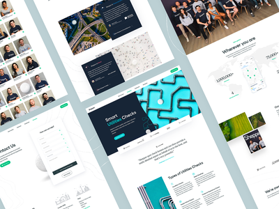 Shepper — Website contact page typography shepper together branding data clean uiux white web design landing page ux ui