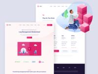 LogDNA Design and Illustration