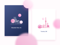 LogDNA City Illustration
