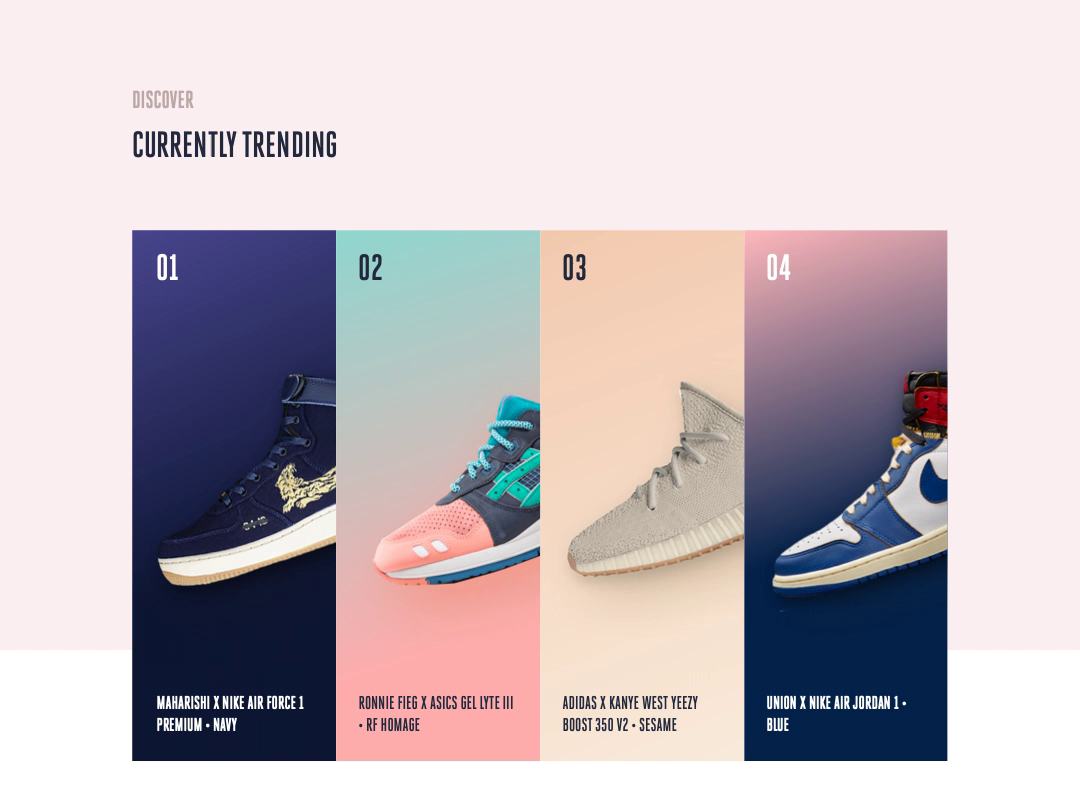 Sneaker Hover Animation