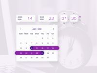 Time And Date Picker