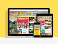 Skippy Fanclub Responsive Website
