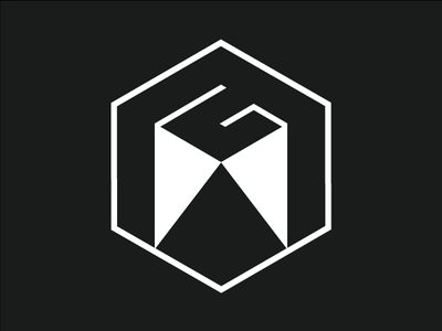Personal Identity Logo  clean flat branding portfolio re-design logo minimal