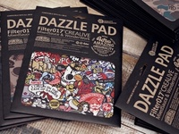 Filter017 Dazzle Pad ( Mice Pad )