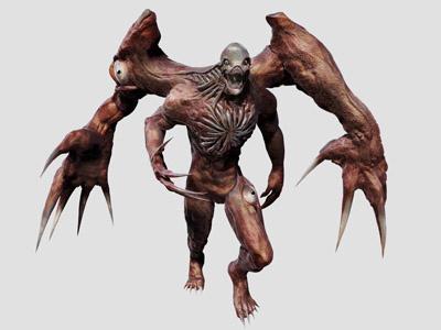G-Virus by Dopepope birkin character creature monster model 3d zbrush kaiju boss residentevil dopepope