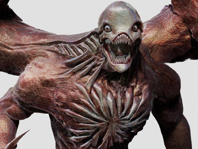 G-Virus 2 by Dopepope birkin character creature monster model 3d zbrush kaiju boss residentevil dopepope