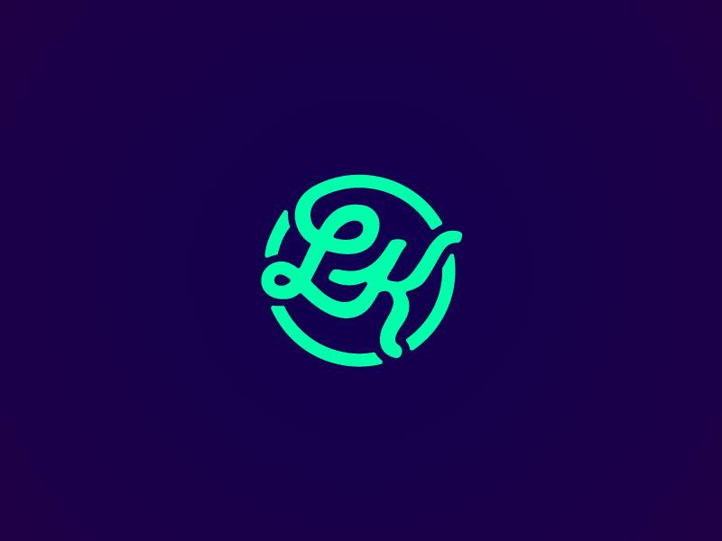 Lk Logo by Dillon Barenbrugge | Dribbble | Dribbble