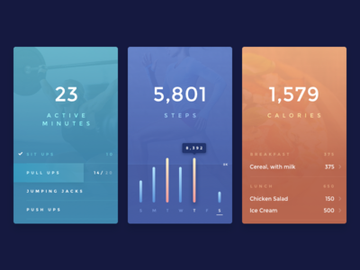 Workout Tracker :: Daily UI - 041