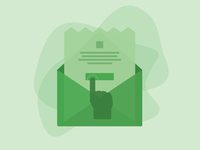 Email Call To Action Illustration
