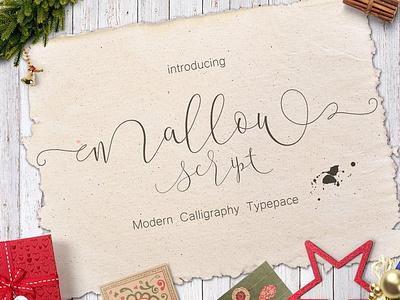 Mallow-Script wedding fonts