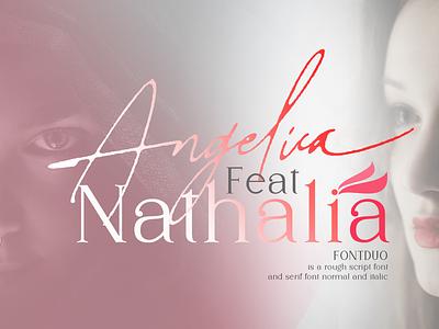 Angelica-Feat-Nathalia wedding fonts