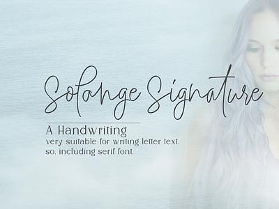 Solange-FONTDUO-Family wedding fonts