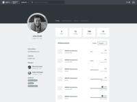 Learning Platform - User Profile