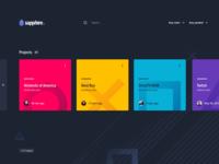 Dashboard - Sapphire Data Architecture Web App