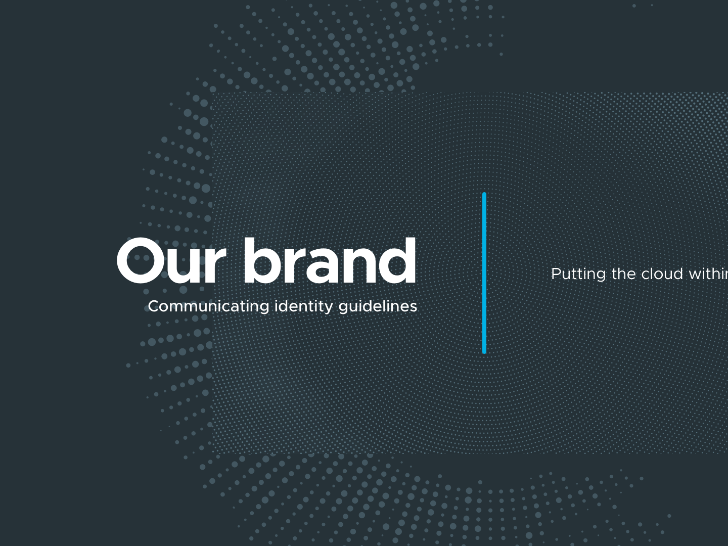 50f11cd2655 Cloud Jumper - Brand Guidelines - Cover by Mark Riggan on Dribbble