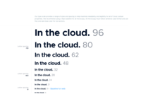 Cloud Jumper - Brand Guidelines - Typography
