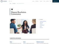 NC Judicial Branch - Commission Landing