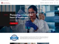 University Theme –Home Page
