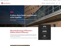 University Theme –About Page